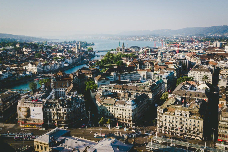 Überblick über Zürich
